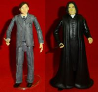 Harry Potter and the Half-Blood Prince: Tom Riddle & Severus Snape - Complete Loose Action Figures